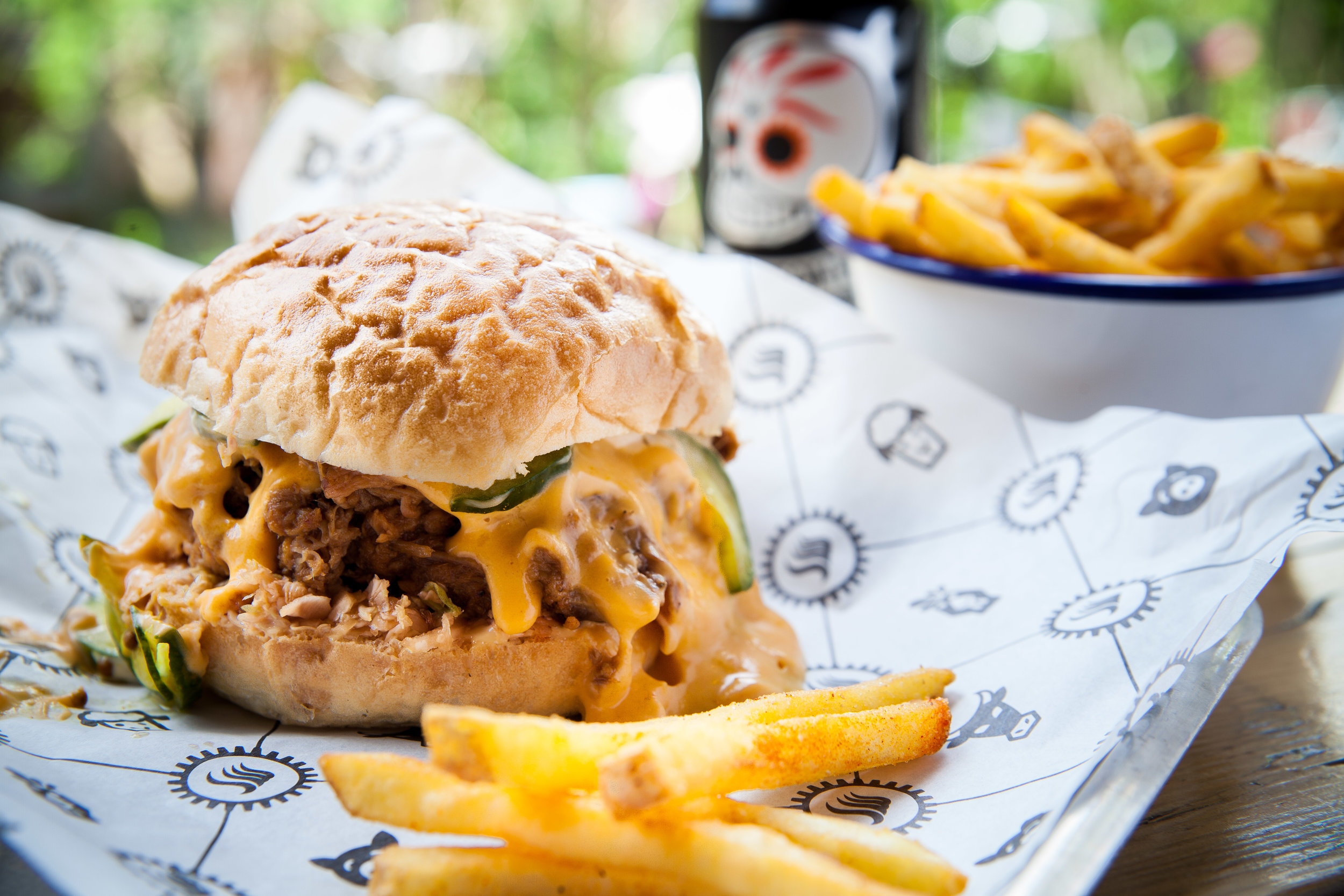 Smokeworks - £10 meal deal