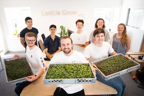 Press Release: LettUs Grow secures £1 million in funding to build the farms of the future - LettUs Grow, creator of advanced aeroponic technology for indoor farms, announced today it has secured £1 million in funding to build world-leading indoor growing facilities, to help feed the growing global population.
