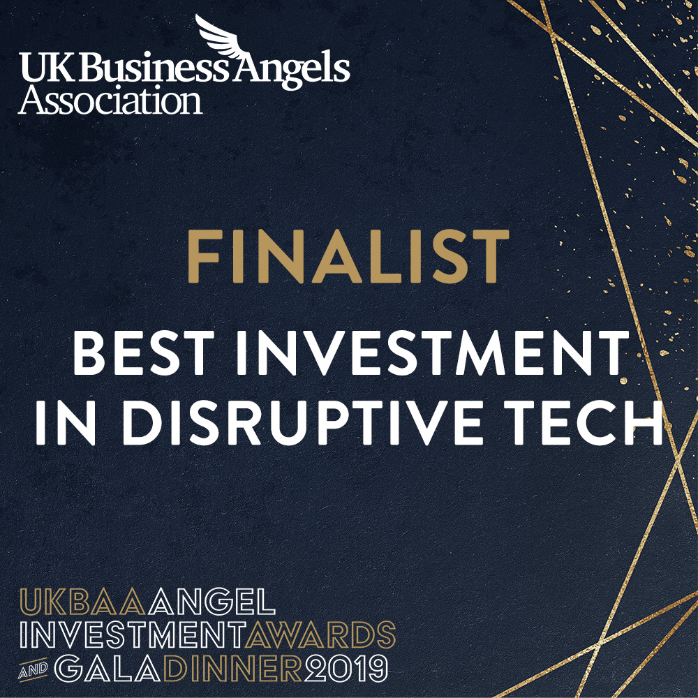 LettUs Grow named as a finalist for Best Investment in Disruptive Tech for UKBAA Investment Awards -