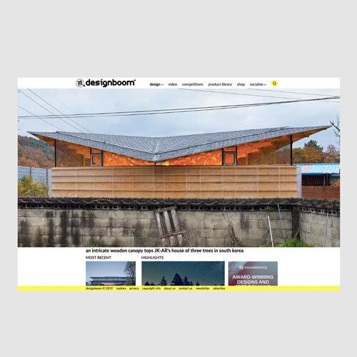 Aug 2019 - Designboom - House of Three Trees
