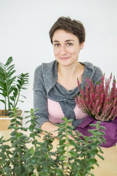 Катя Палюра співзасновниця ініціативи, ландшафтна дизайнерка