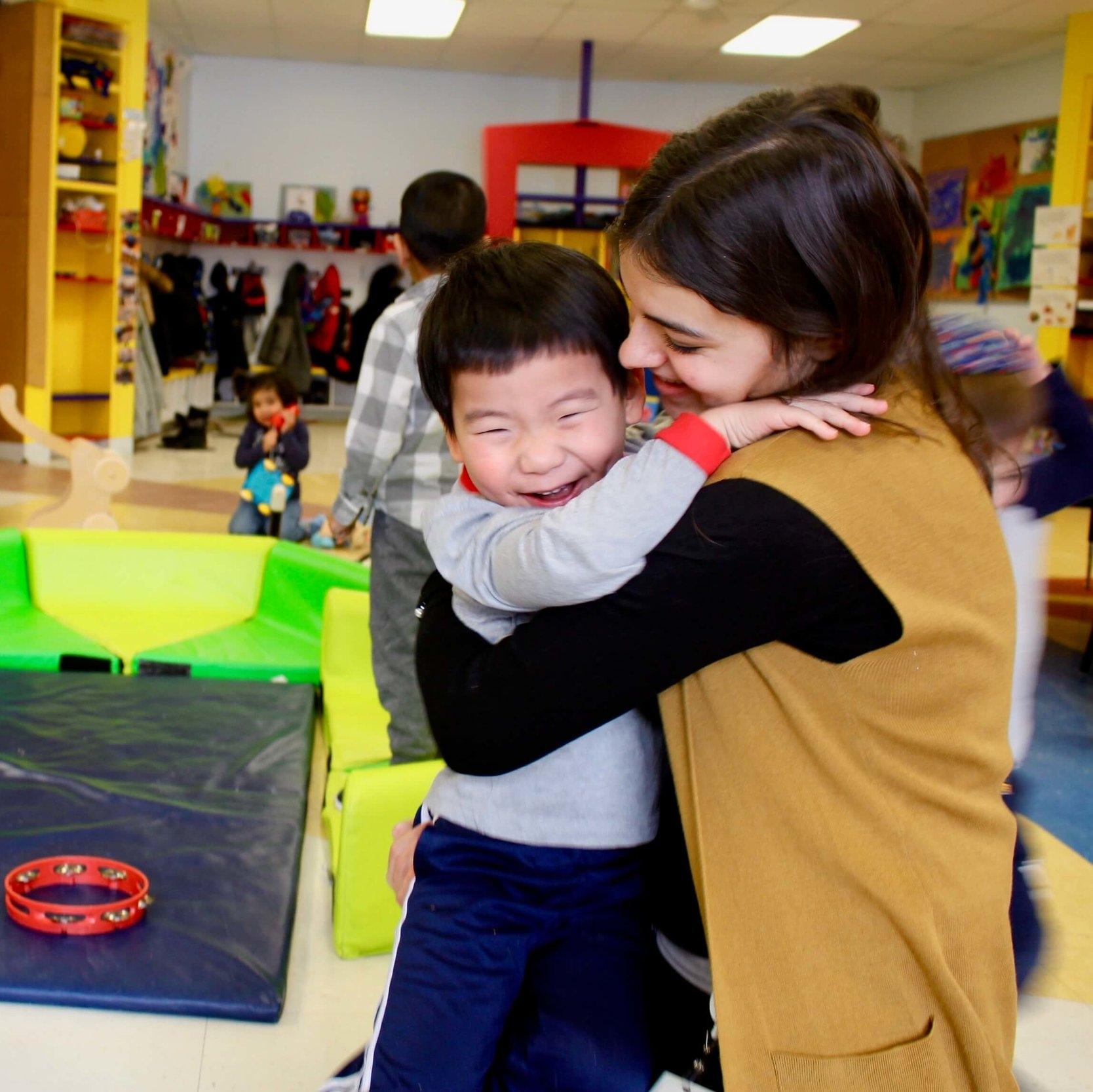 Groupe des tout-petits - Notre programme de thérapie et de jeu aide les enfants de 0 à 6 ans présentant des besoins particuliers.