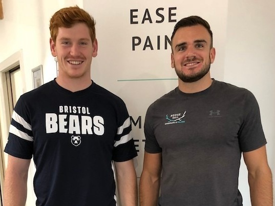 """""""I CAN'T RECOMMEND CHIROPRACTIC HIGHLY ENOUGH"""" - """"Massive thanks to Matt at Moose Hall Chiropractic for helping me during my rehabilitation period. Regular adjustments have improved my sleep and overall mobility. I can't recommend Chiropractic highly enough to help facilitate a healthier mind and body.""""- JACK, RUGBY PLAYER"""