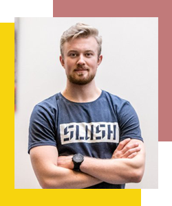 Andreas Saari - CEO of Slush