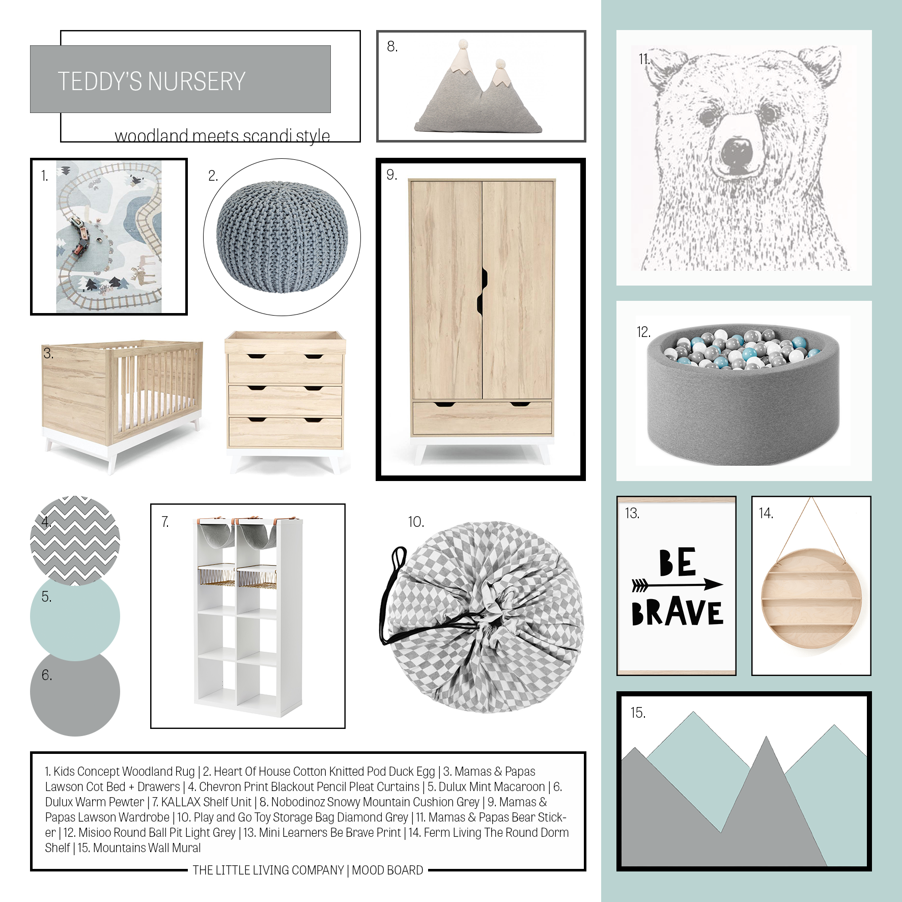 MOOD BOARDS - Do you need some inspiration to kick start your project?