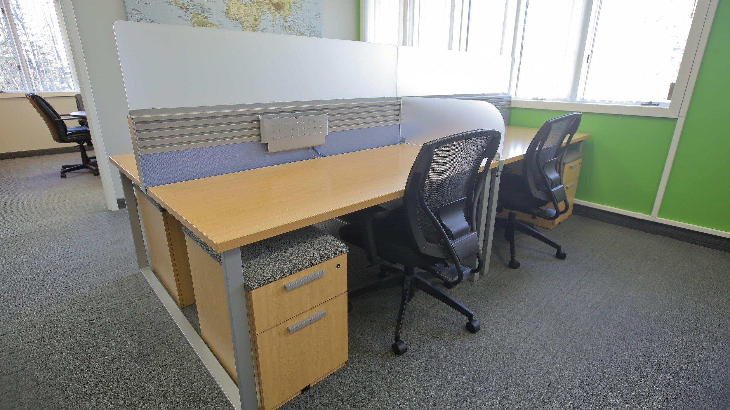 Dedicated Desks -