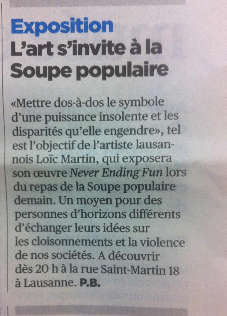 24Heures , 20/03/2014