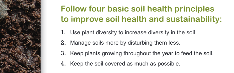 [From the Soil Health Key Points - NRCS - USDA, just sayin']