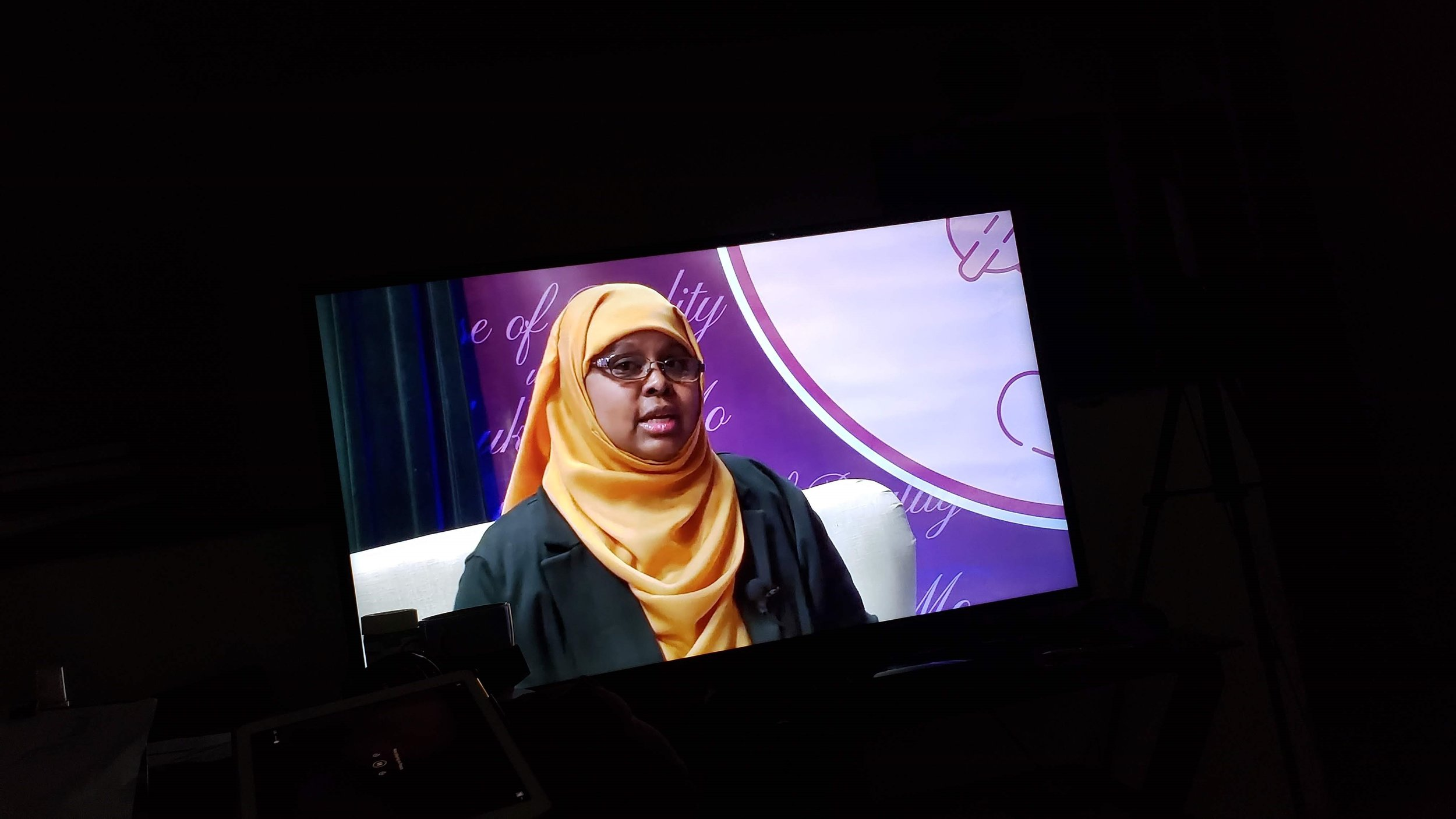 Dose of Reality TV show with Shukri, Minneapolis