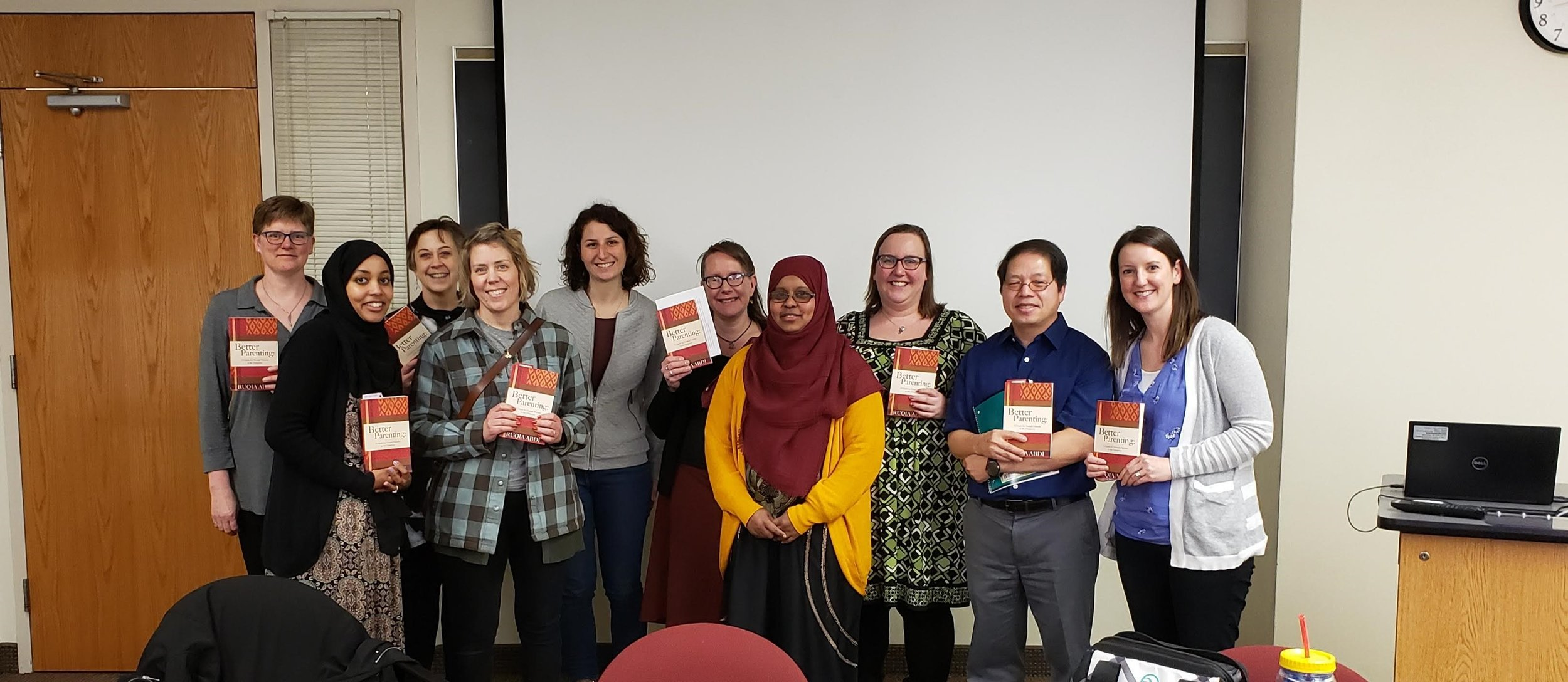 University of Minnesota, department of Family Social Sciences students and faculty members.