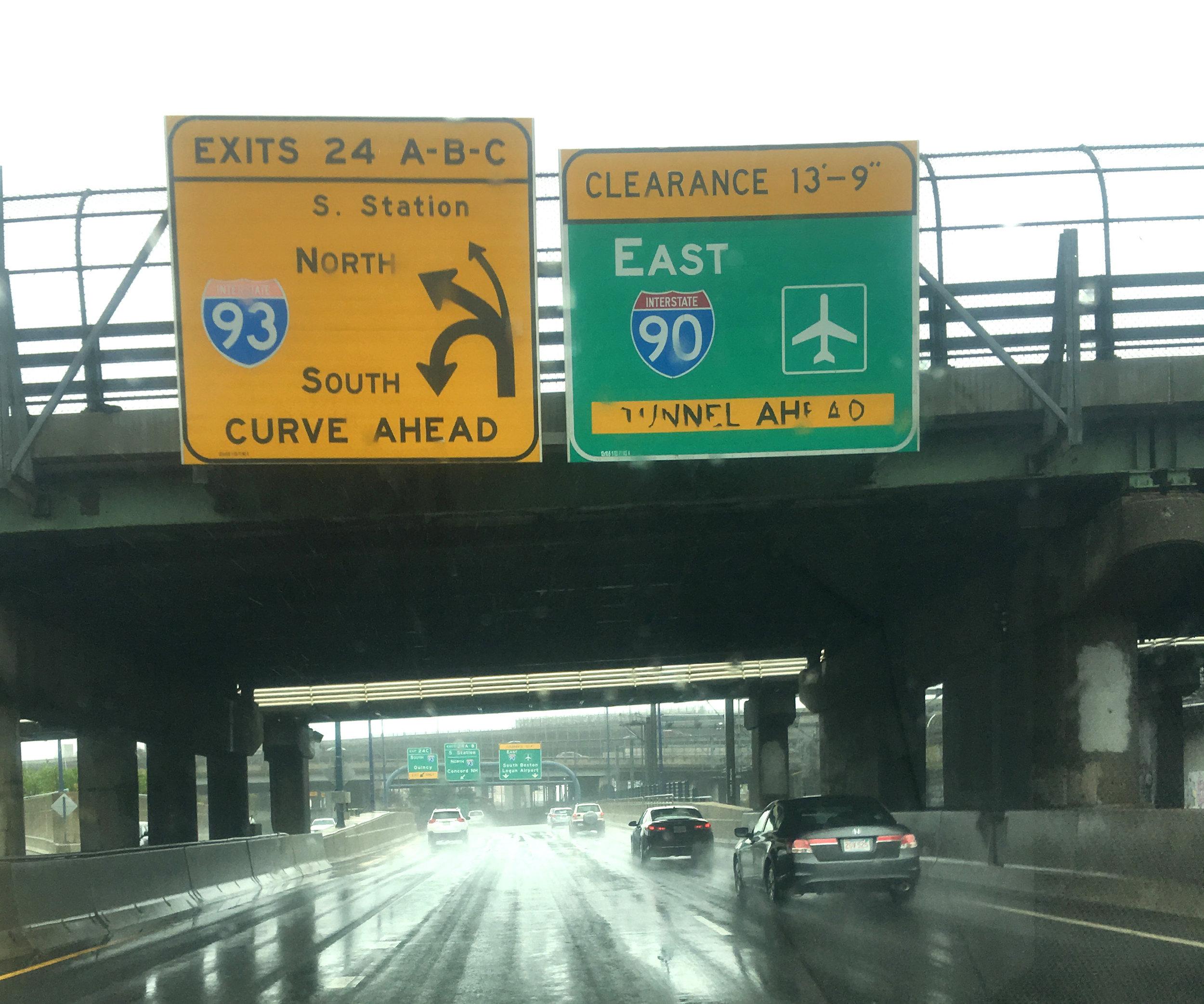 Mass Pike Inbound Near 600 Marginal Road, Boston, MA