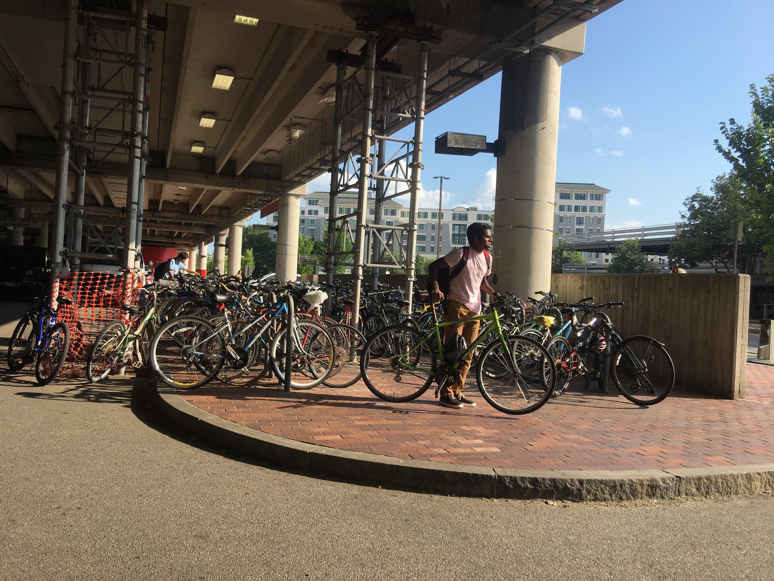 Alewife Bike Racks