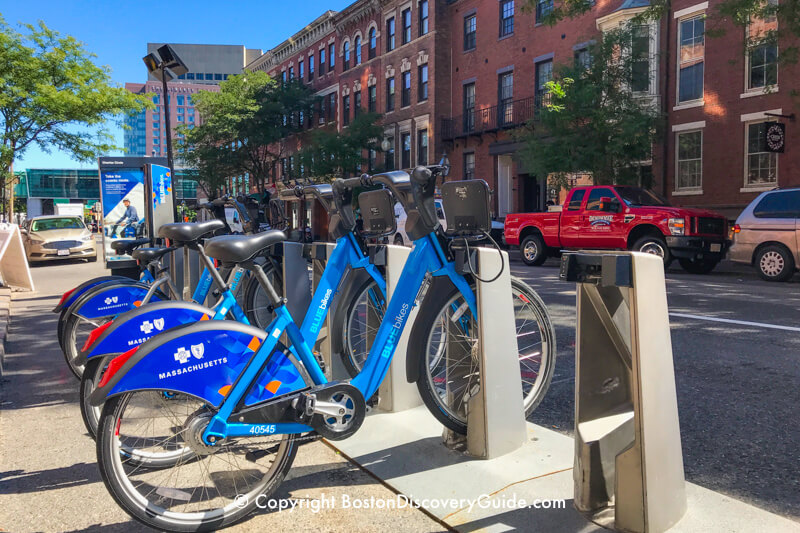 BlueBikes. Source: Boston-Discovery-Guide