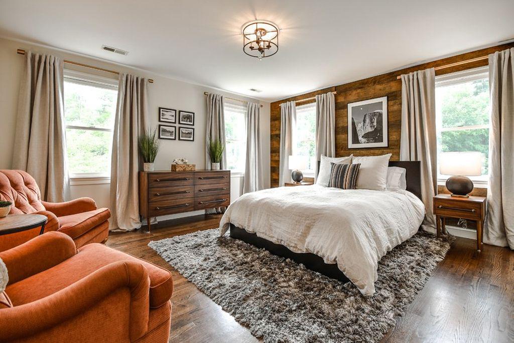 Rustic Yet Contemporary Bedroom Courtney Ellen Interior Design