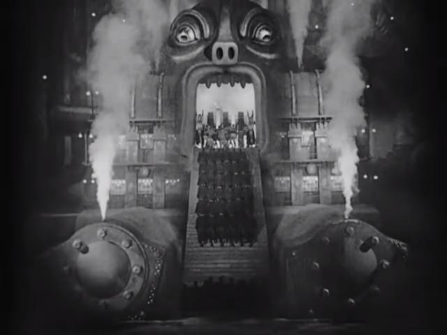 The Complete Metropolis, 1927, Silent Movie, German, Public Domain Movie 16-44 screenshot.png