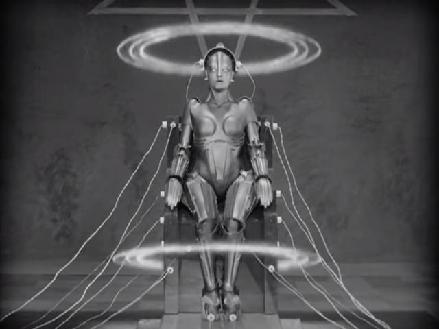 The Complete Metropolis, 1927, Silent Movie, German, Public Domain Movie 1-24-37 screenshot.png