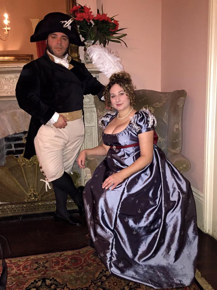 Last December Monsieur C. and I decided we wanted to do something to celebrate our upcoming 5th anniversary in 2018. - I had the wild idea of a weekend of Regency/Empire New Orleans style….