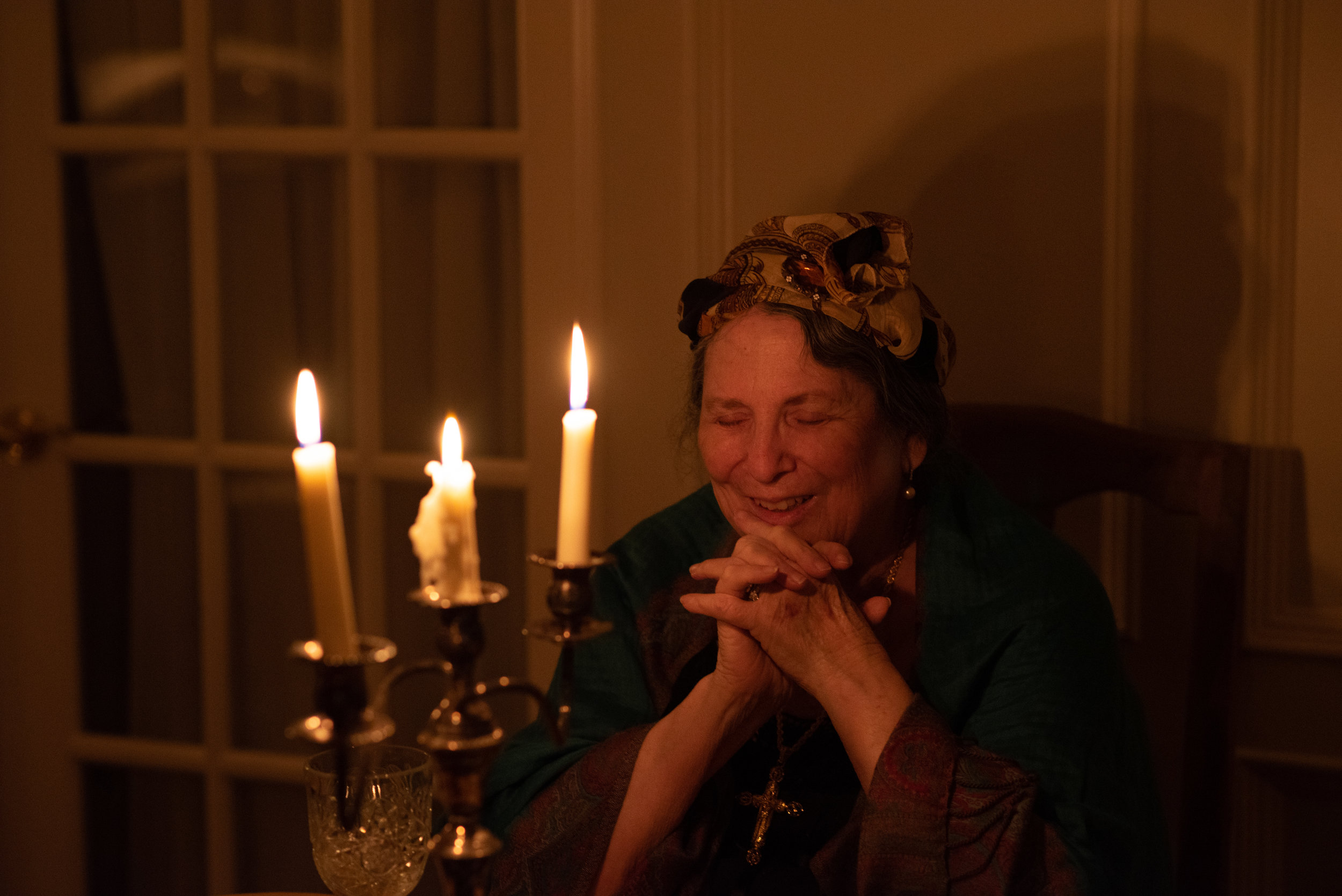 CandleLight really made this portrait shine! - A scene straight out of a Jane Austen Novel