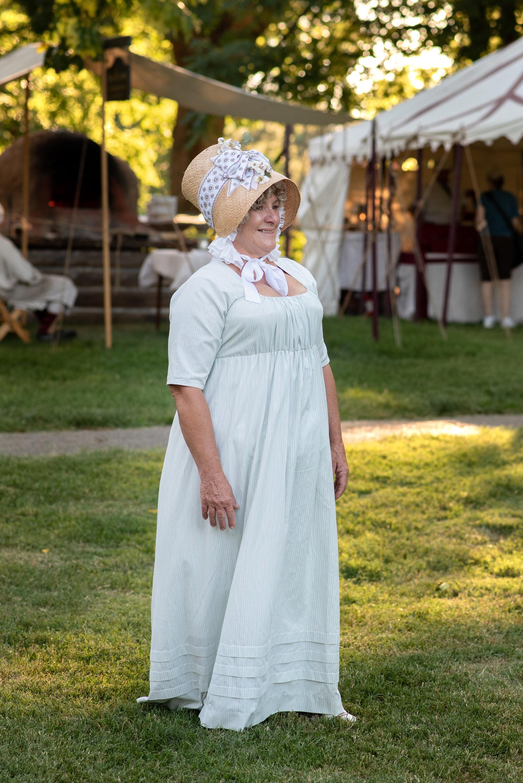 regency bonnet Jane Austen Festival Kentucky 2019