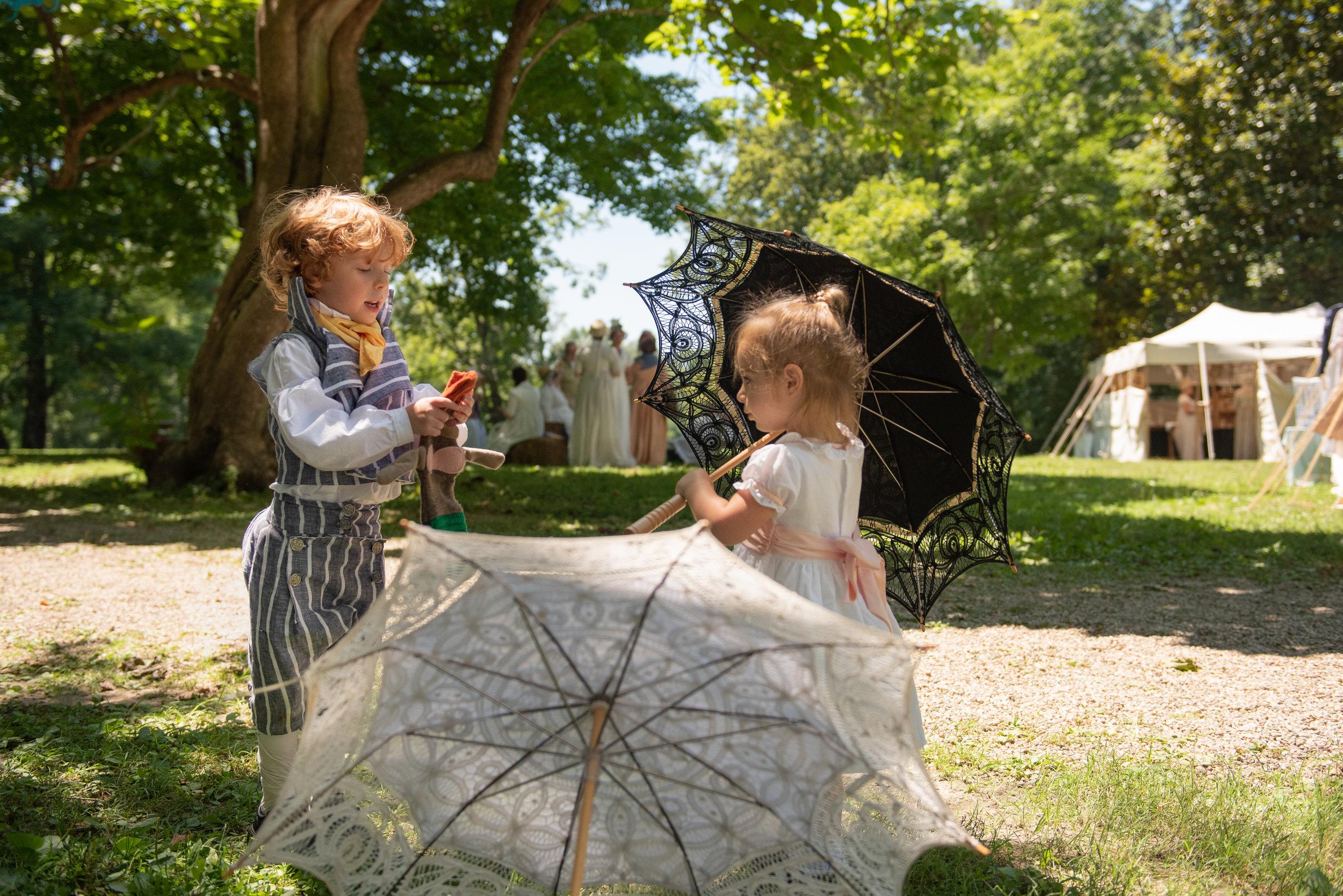 Regency Family Jane Austen Festival Louisville Kentucky 2019