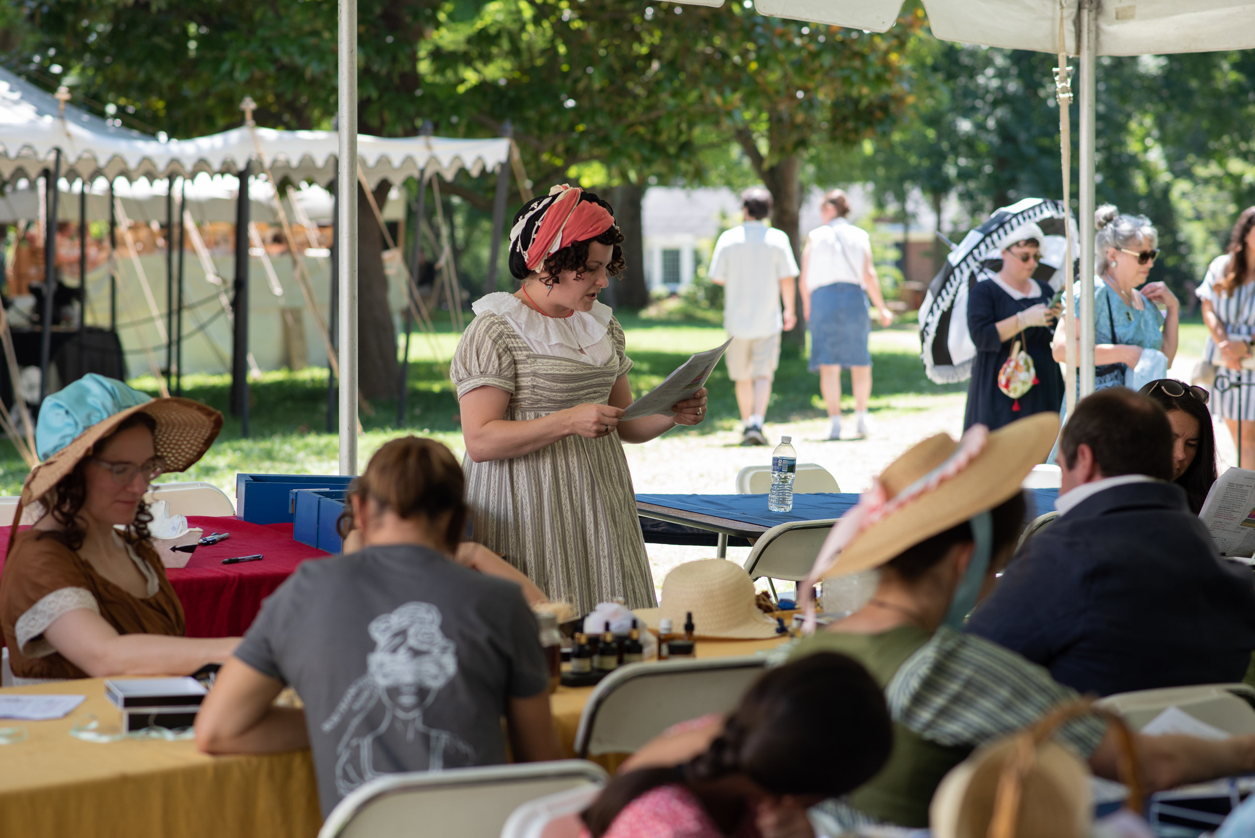 LBCC Historical Perfumes scents Jane Austen Festival Kentucky 2019
