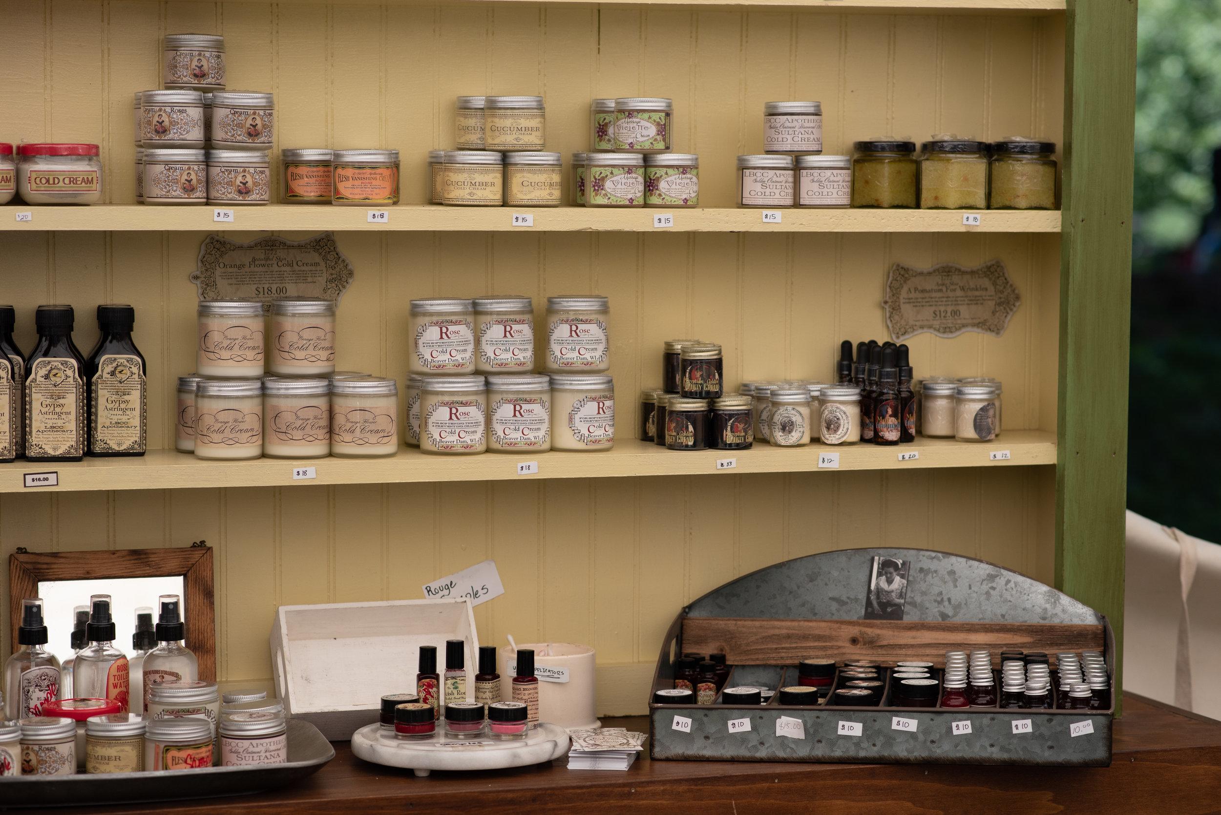 LBCC Historical Perfumes Scents Jane Austen Festival Louisville Kentucky 2019