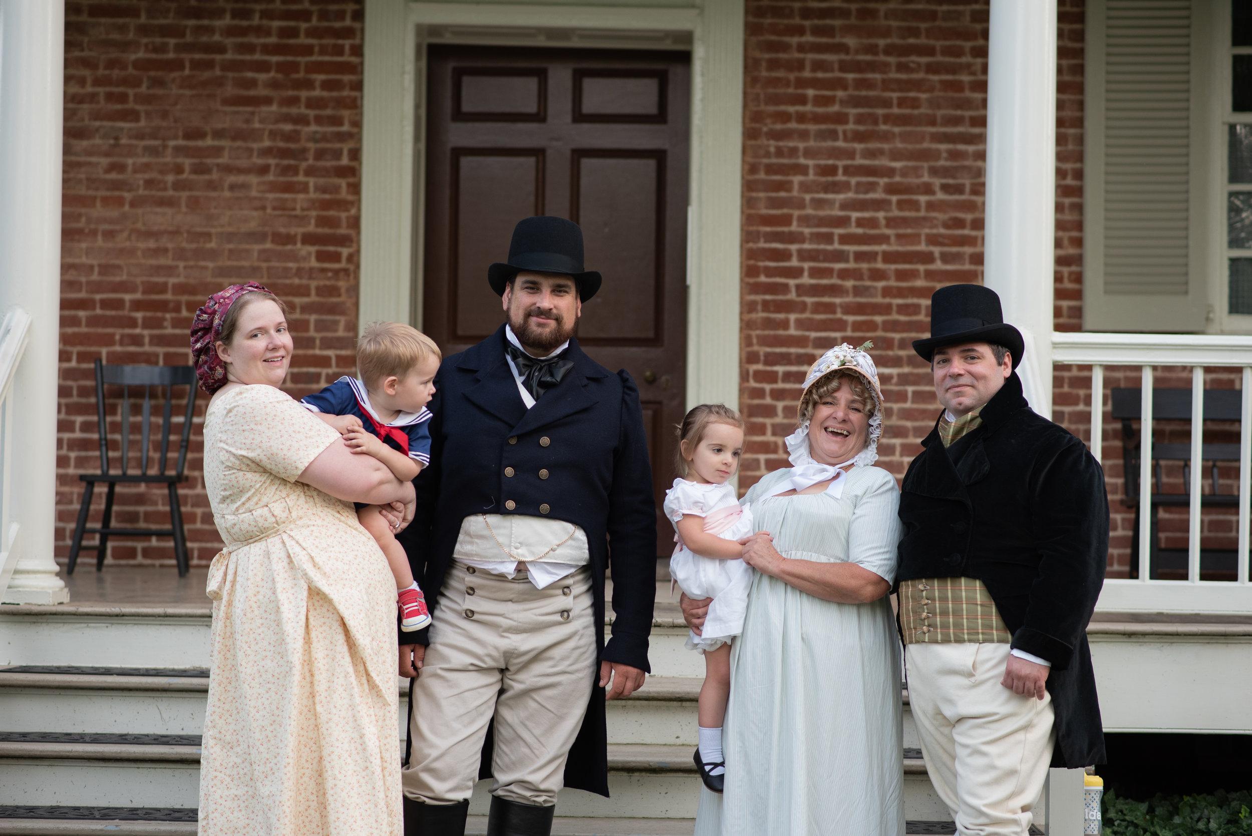 Jane Austen Festival Louisville Kentucky 2019 regency dress Regency era Top Hat
