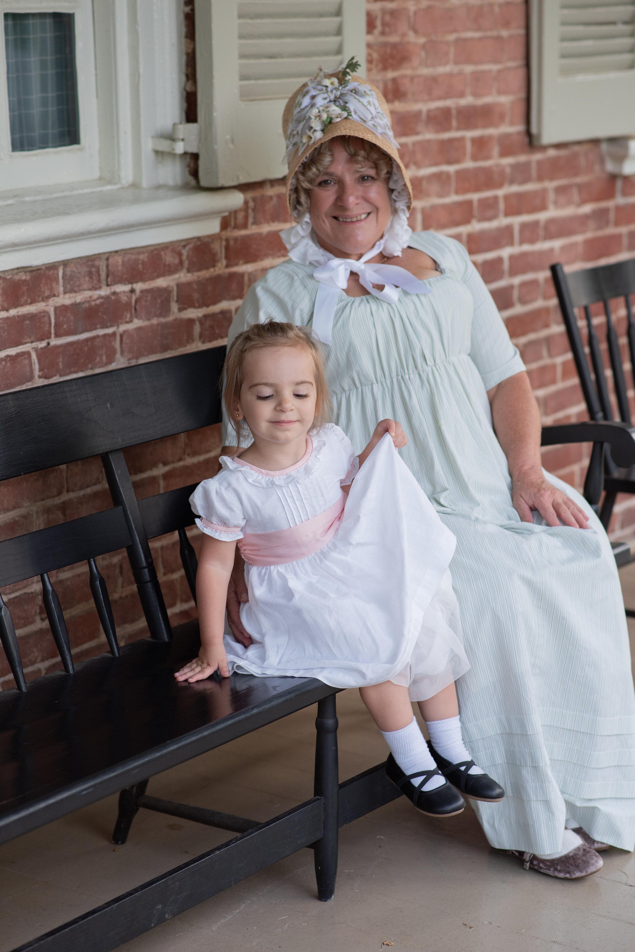 Jane Austen Festival Louisville Kentucky 2019 regency dress bonnet