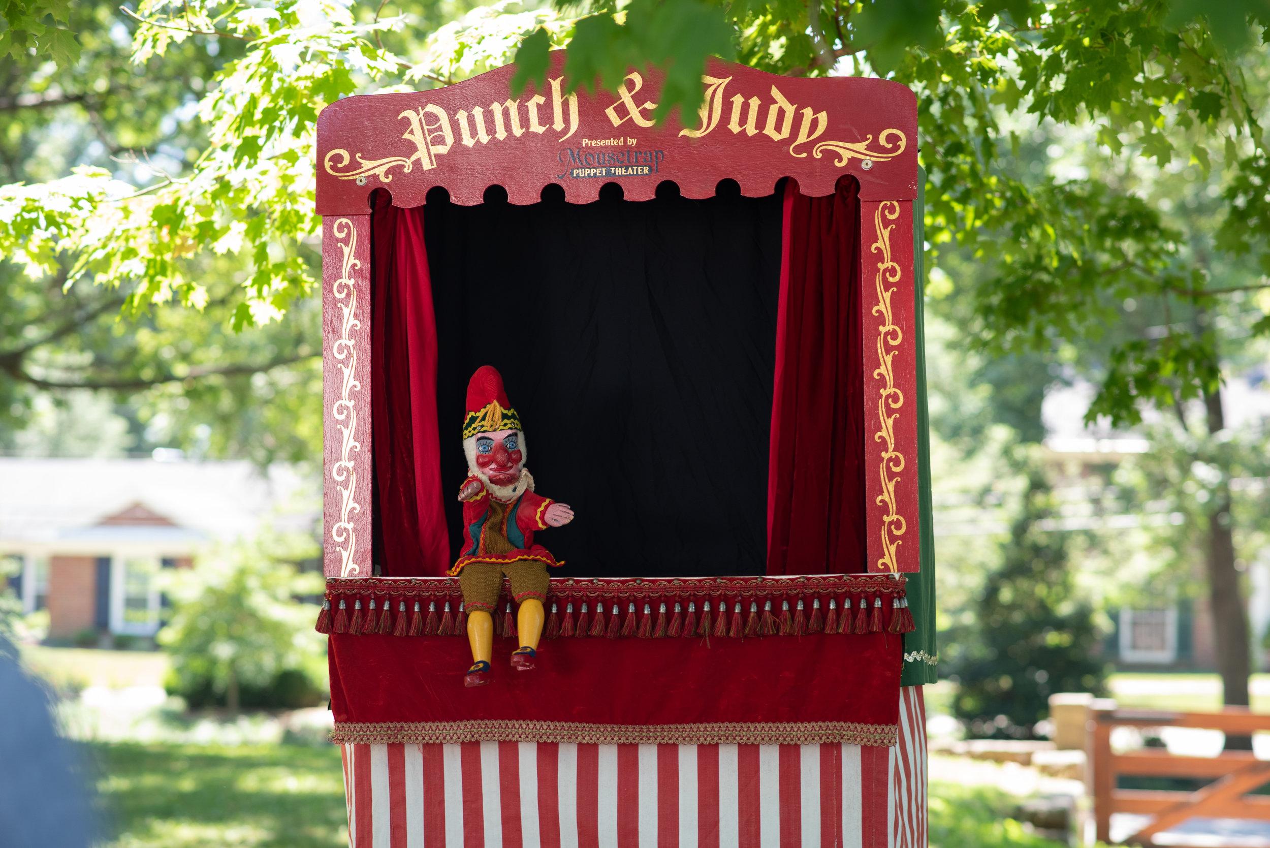 Jane Austen Festival Louisville Kentucky 2019 Punch and Judy Show Regency Entertainment