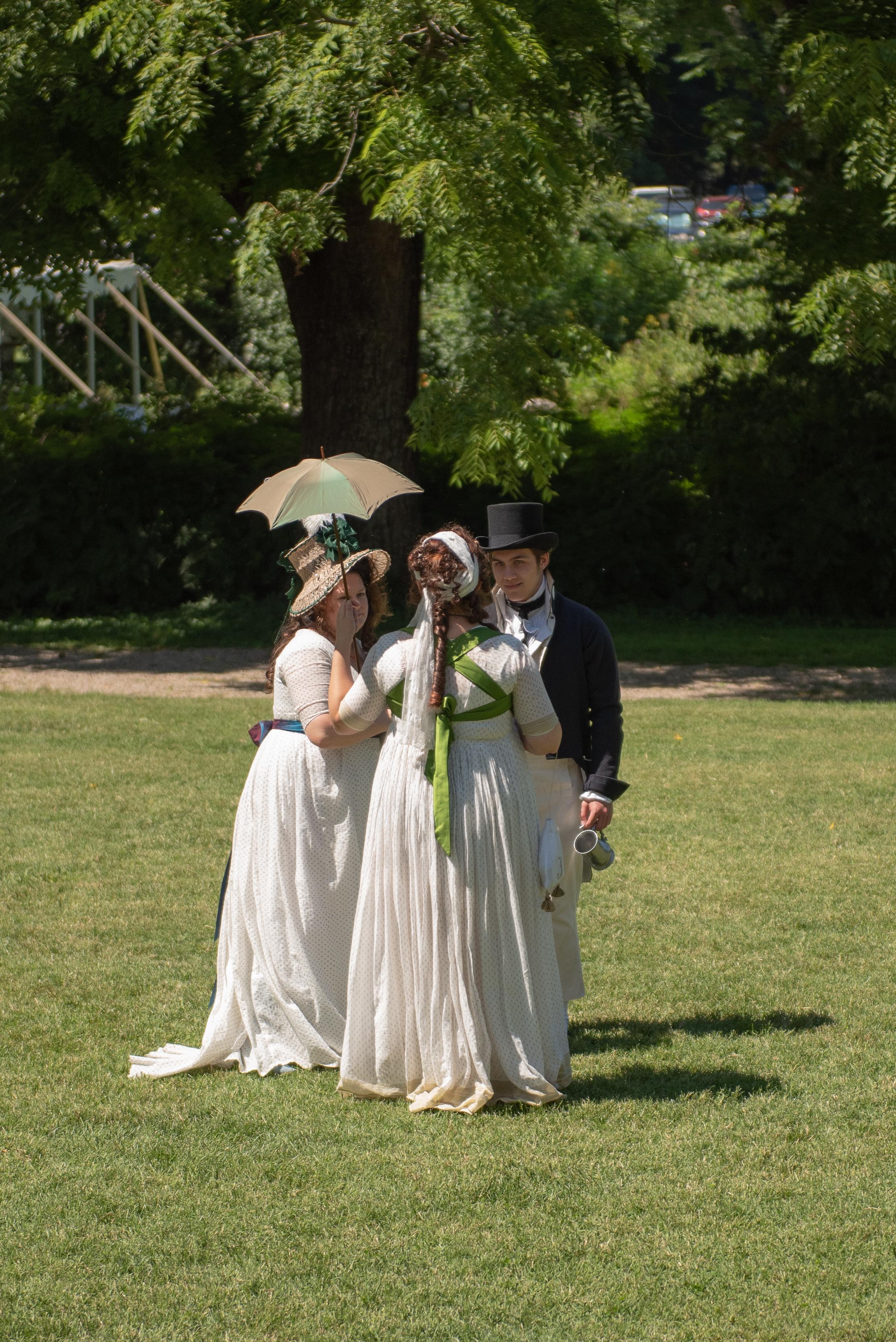 Jane Austen Festival Louisville Kentucky 2019 Regency Federal dress 1790s