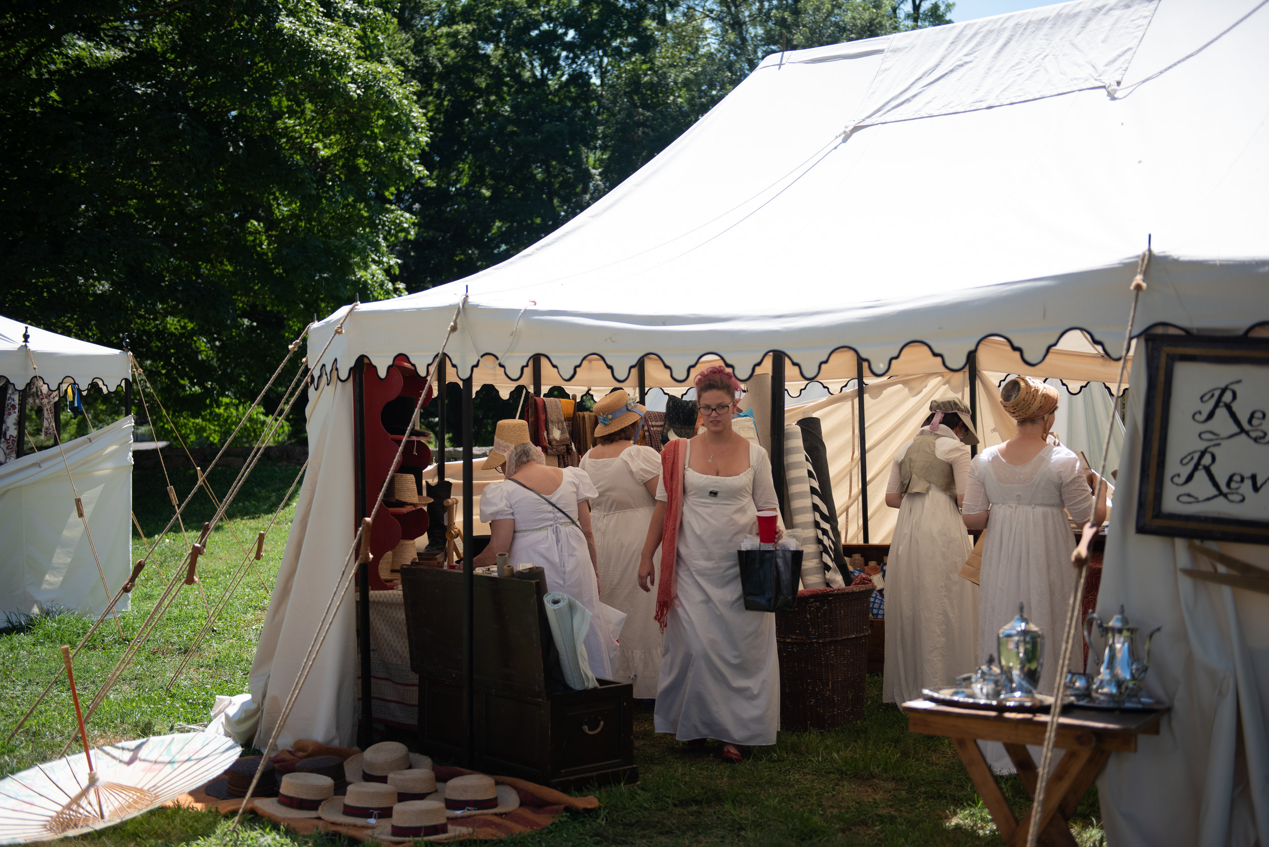 Jane Austen Festival Louisville Kentucky 2019 Vendors