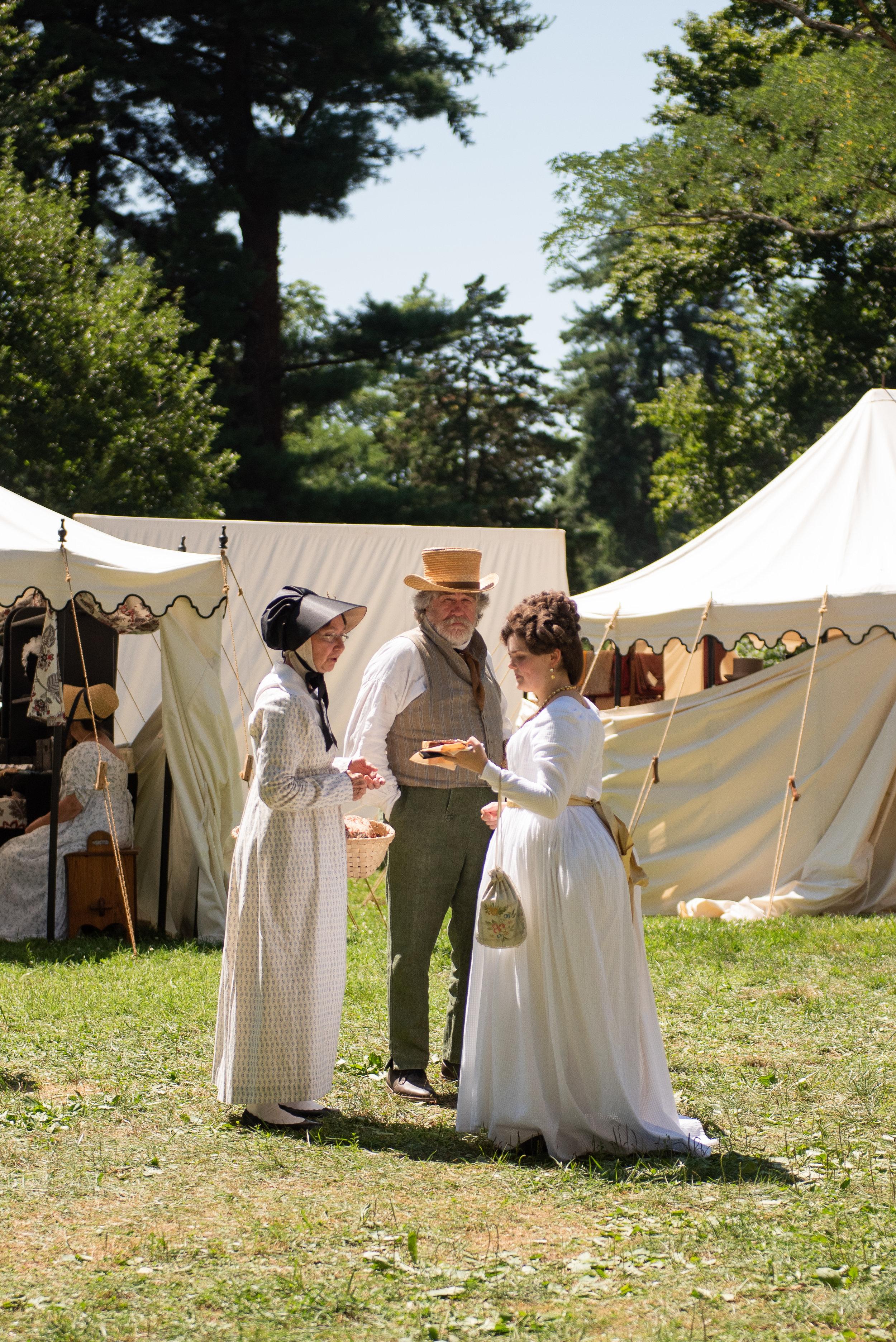 Jane Austen Festival Louisville Kentucky 2019 Federal dress 1780s 1790s style fashion