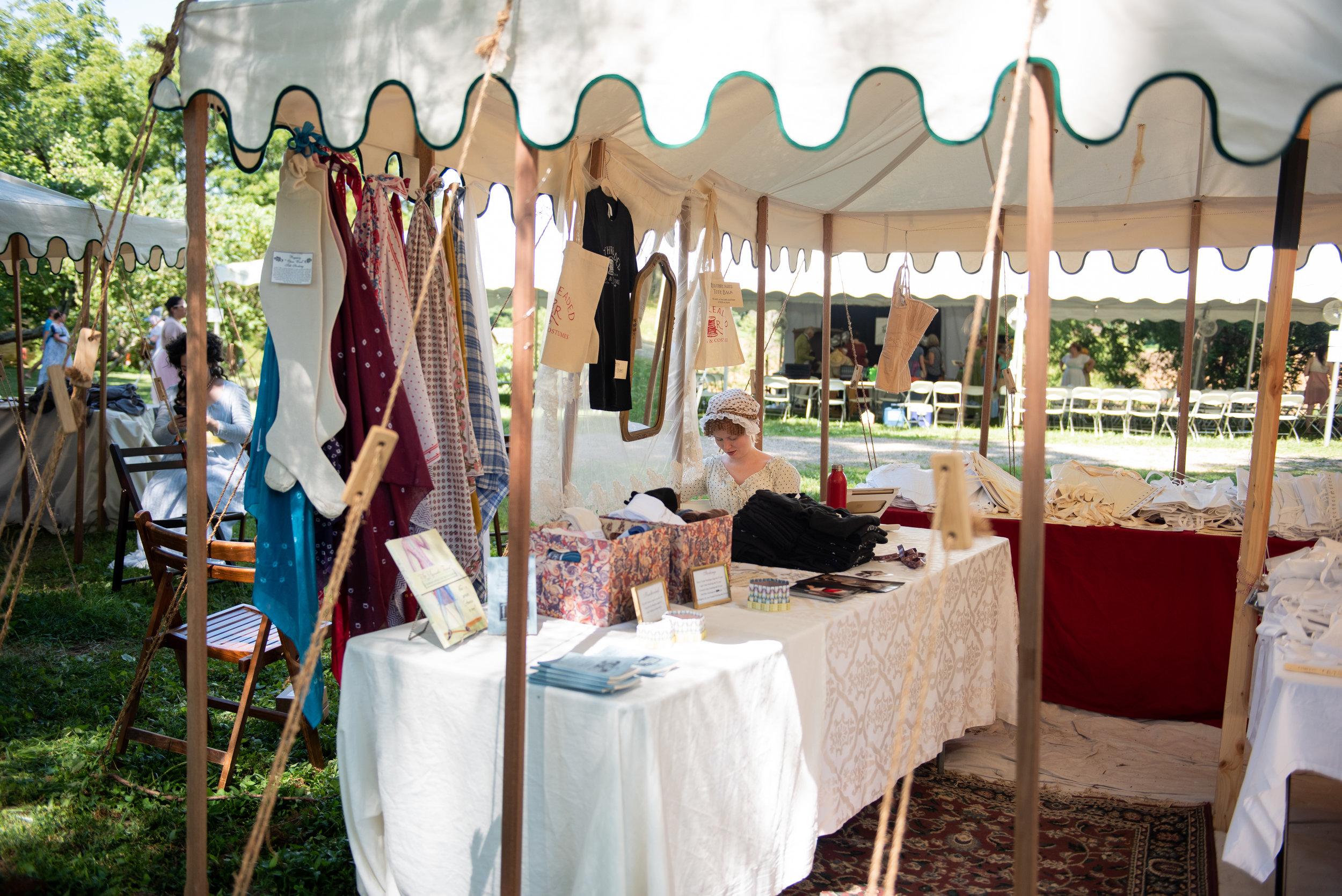 Jane Austen Festival Louisville Kentucky 2019 Redthreaded corset