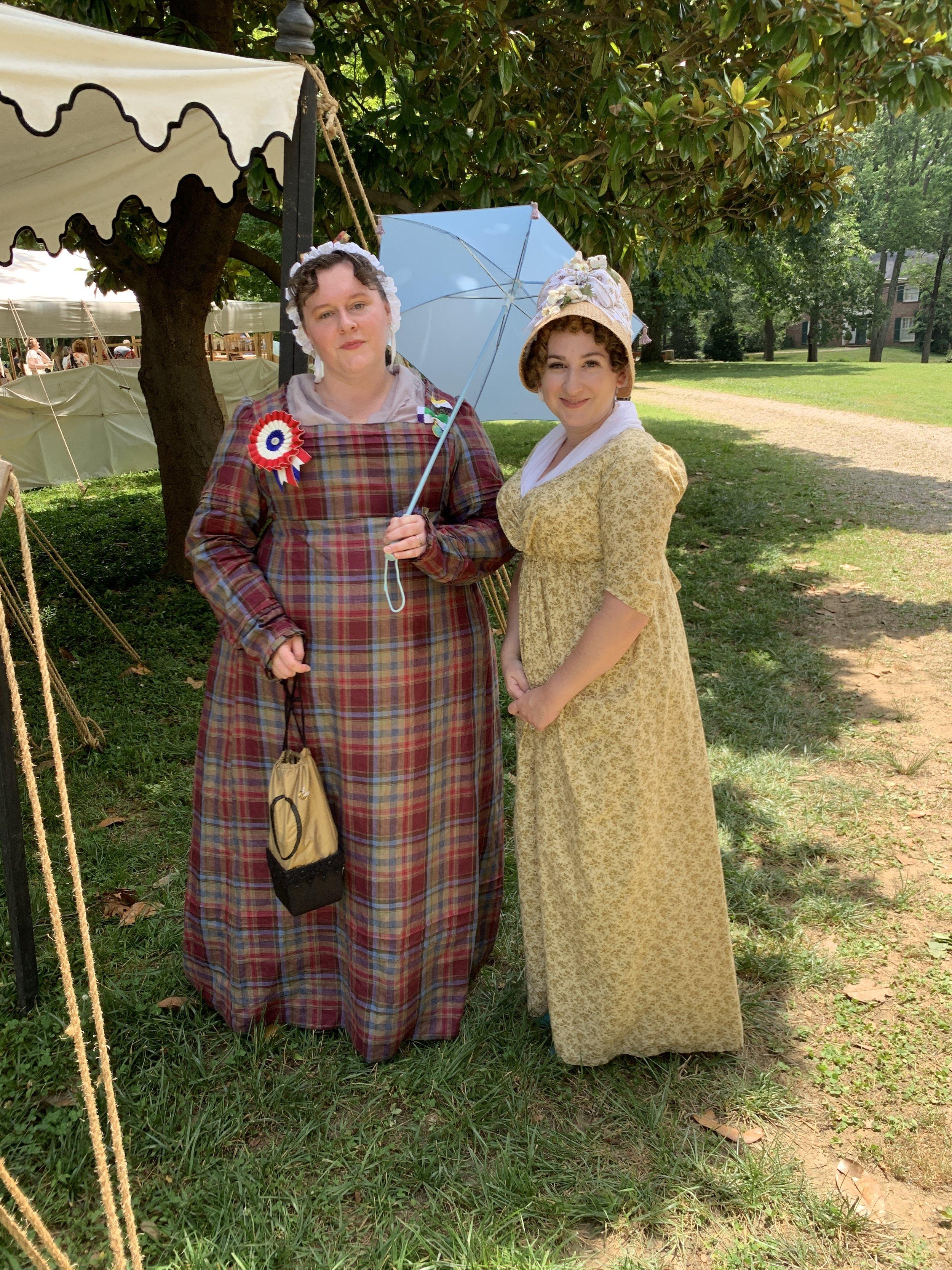 Jane Austen Festival Louisville Kentucky 2019 Regency Dress