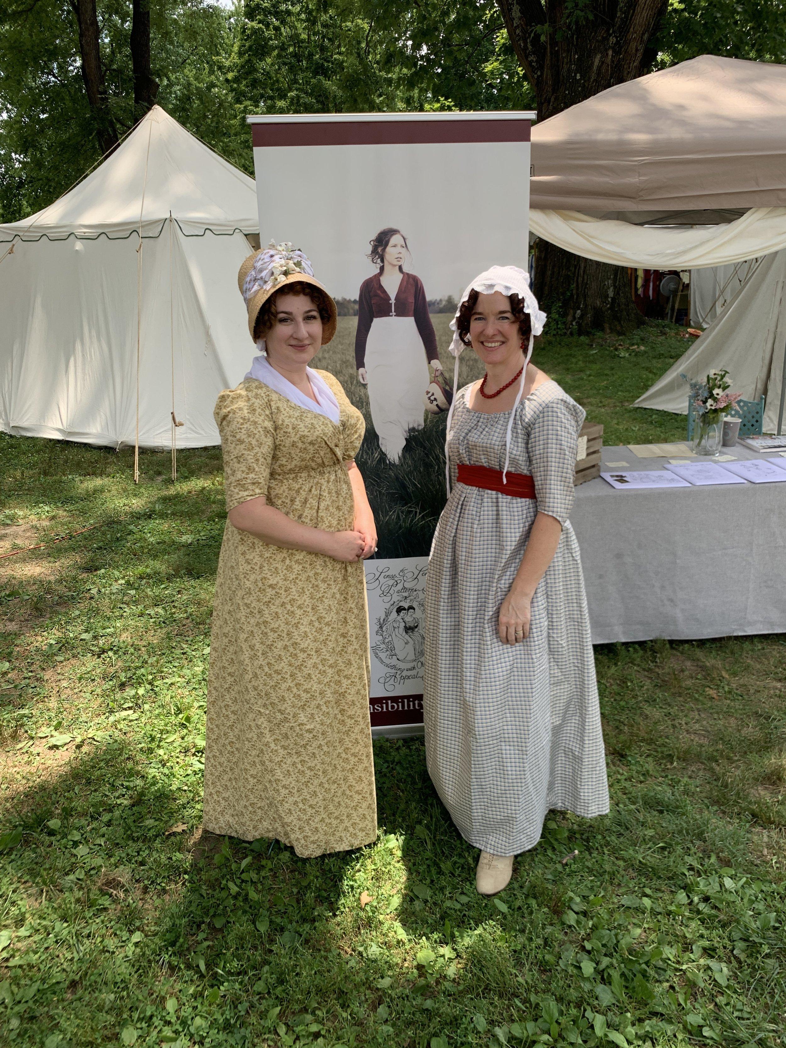Jane Austen Festival Louisville Kentucky 2019 Sense and Sensibility Patterns