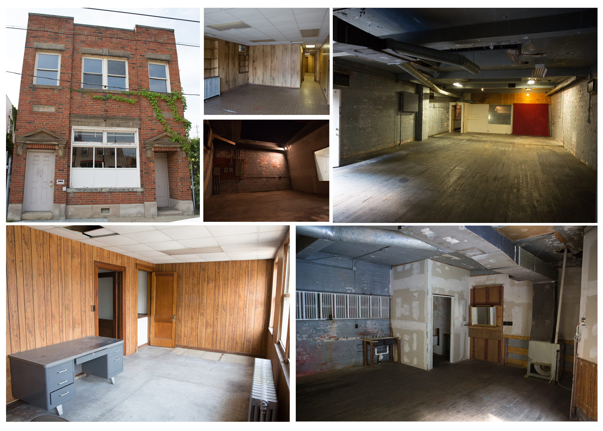 The Tamir Rice Afrocentric Cultural Center    before renovations. Photos by Graham Smith.