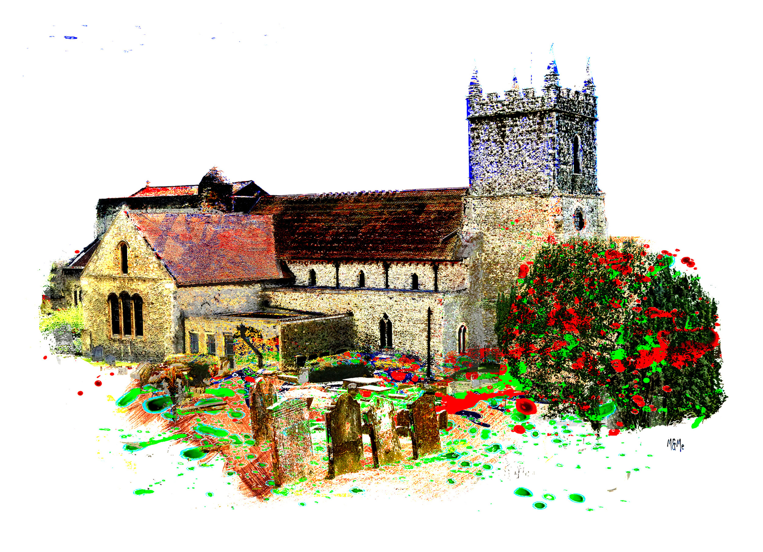 St Leonard's and Head Stones Hythe