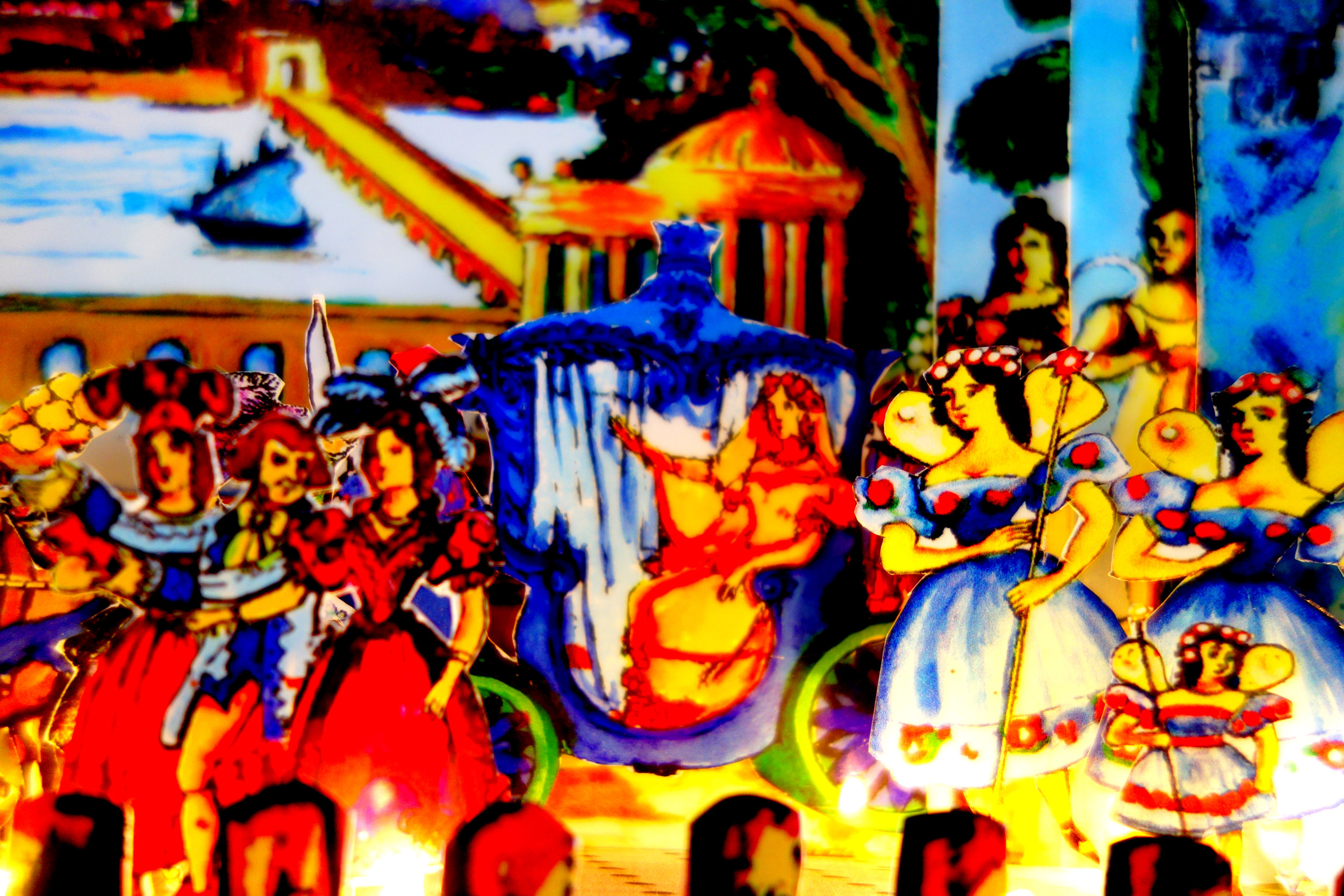 Illuminated Toy Theatres Dioramas - But…. More to follow, Alice's Adventures in Wonderland anybody?