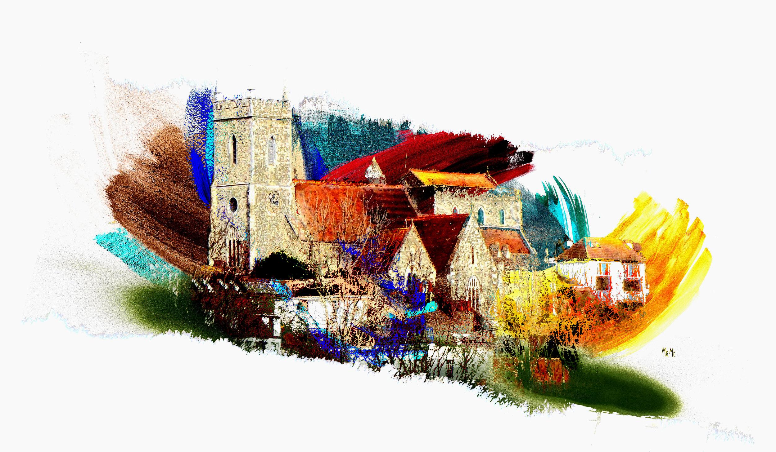 St Leonard's Church in the Wind Hythe