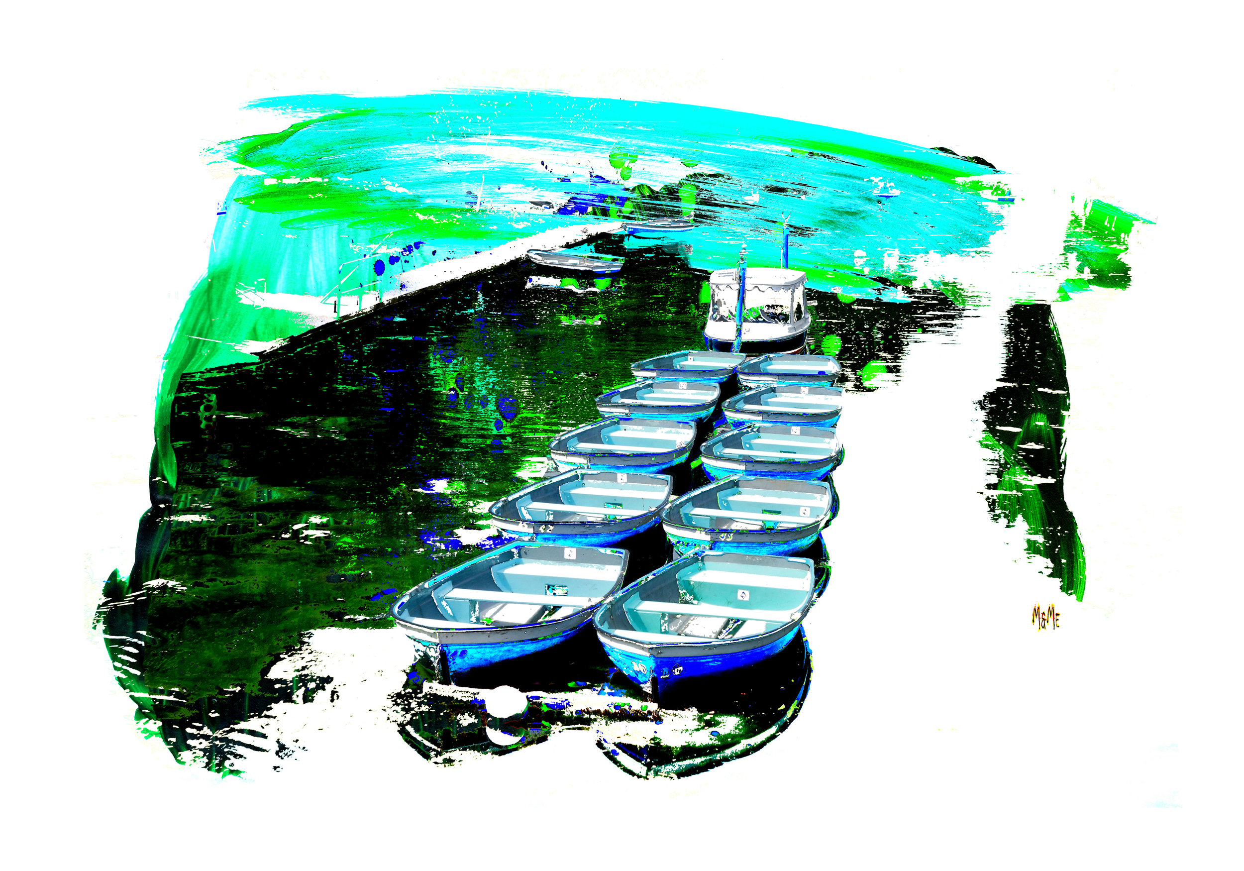 Canal Boats of Hythe