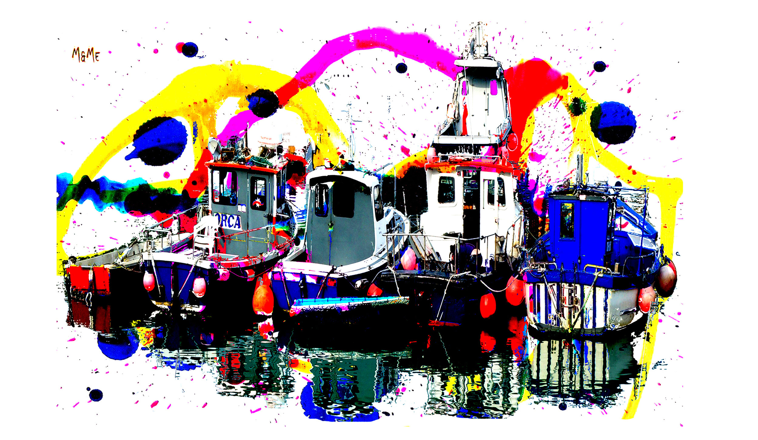 Collection of Folkestone Fishing Boats