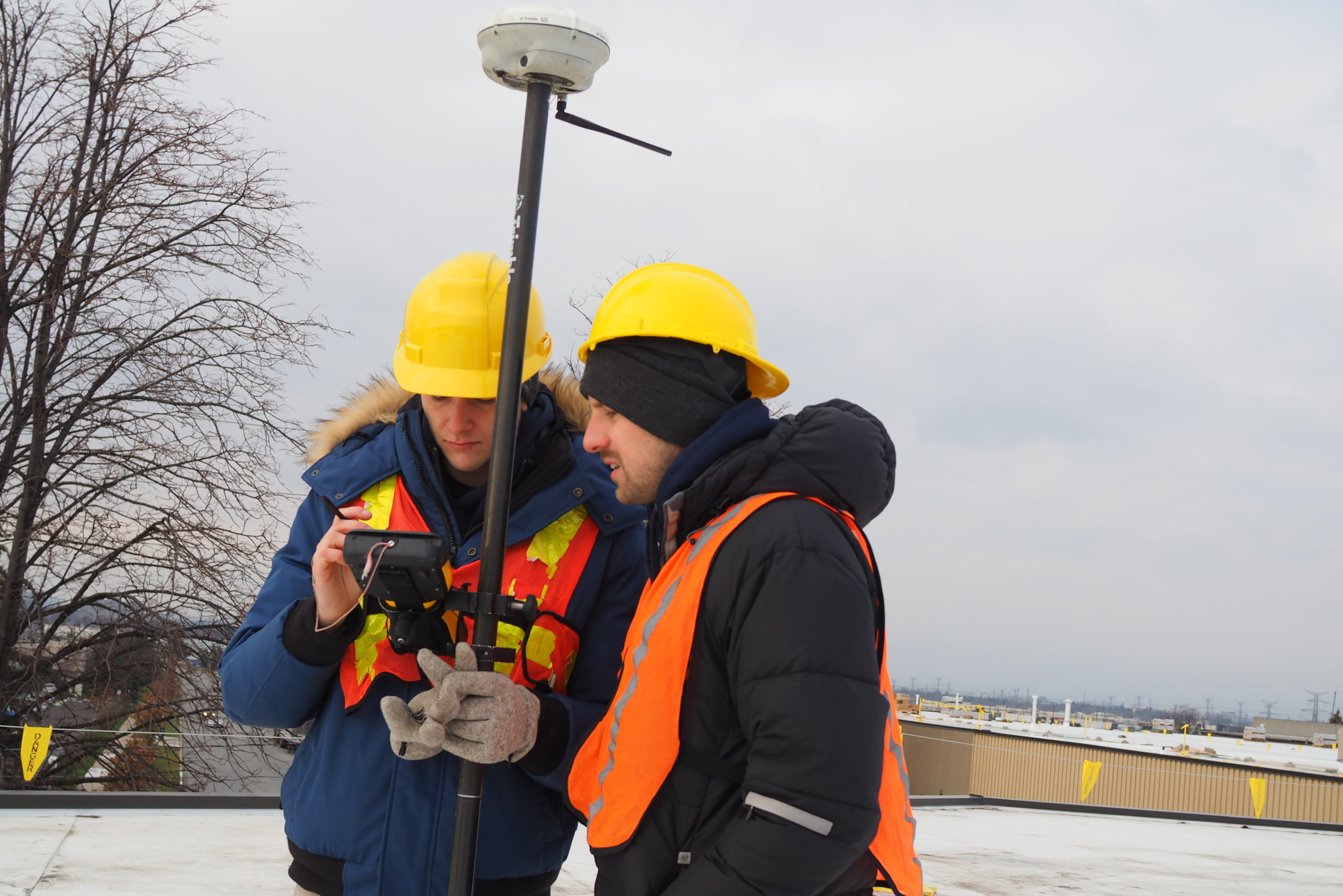Exactus Commercial Rooftop Survey