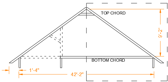 Structural Drawing with Dimensions