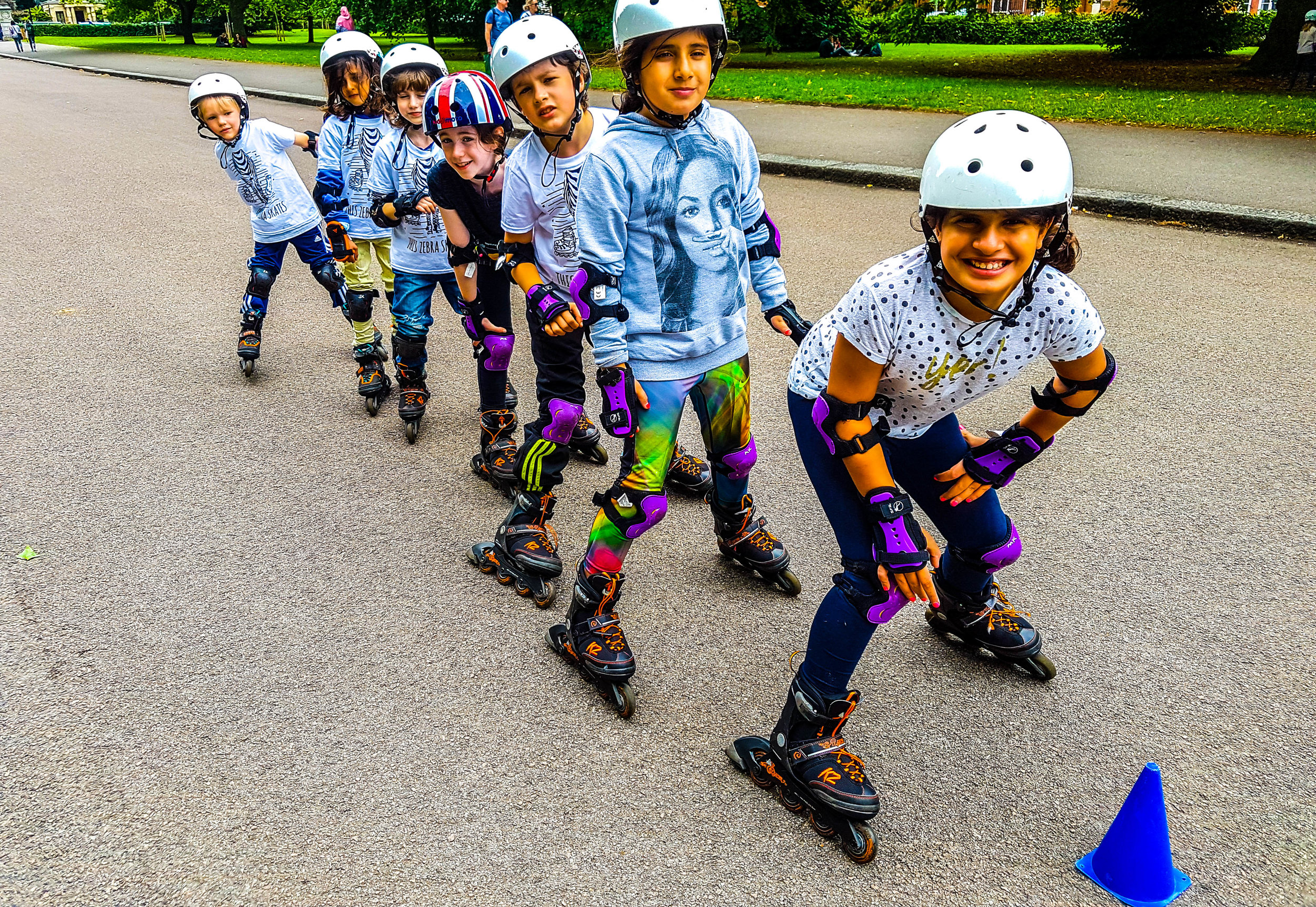 Zebra Skate  are a popular holiday workshop based in London, offering single day or five-day bookings of skateboarding and rollerblading day camps.