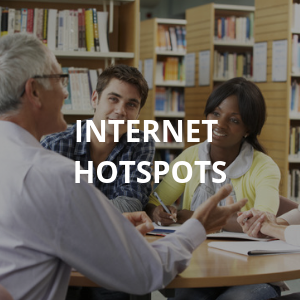 Free Internet Hotspots to Borrow at Ramsey Library