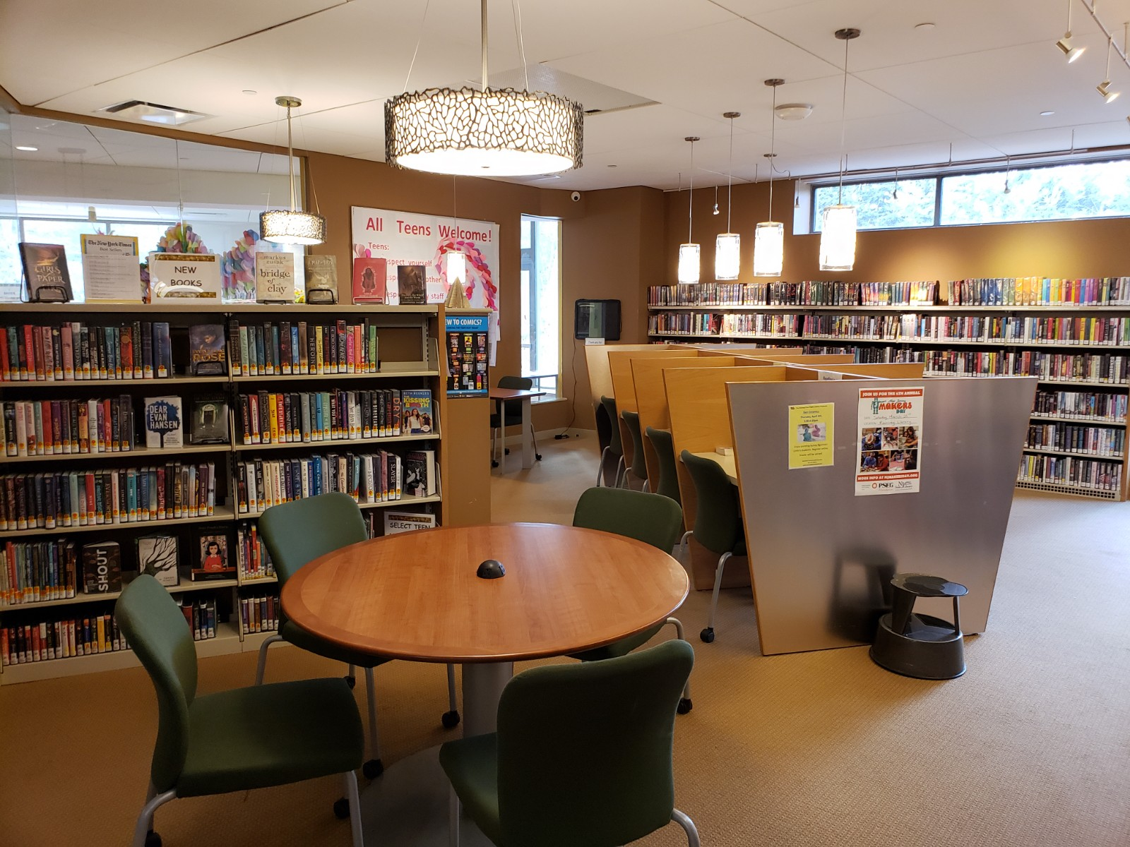 Teen Section at Ramsey Free Public Library — Ramsey Free ...