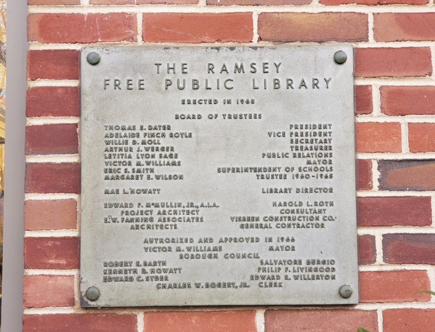 Ramsey Free Public Library