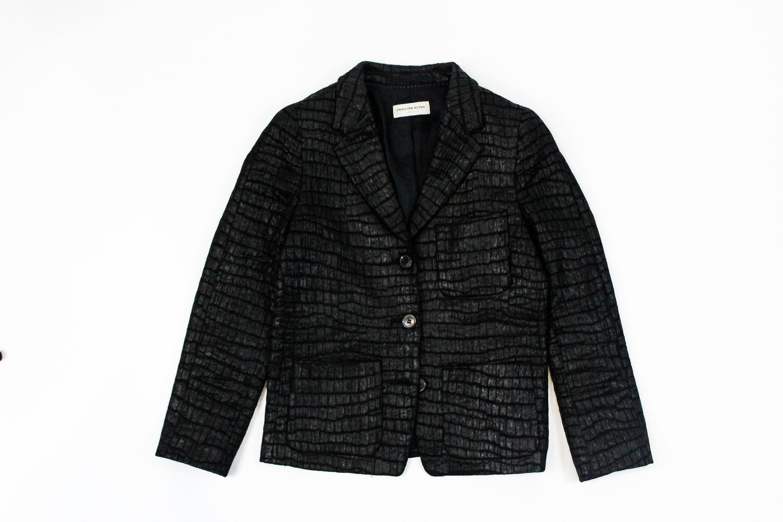 Dries Van Noten Textured Blazer - $175