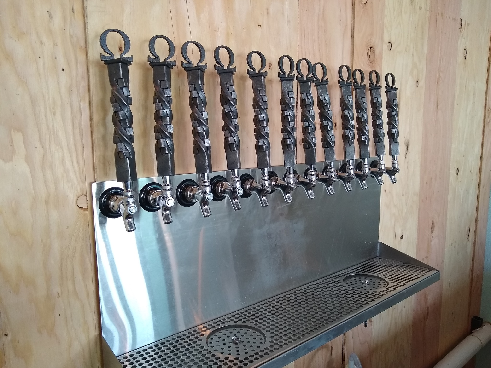 Forged Tap Handles -