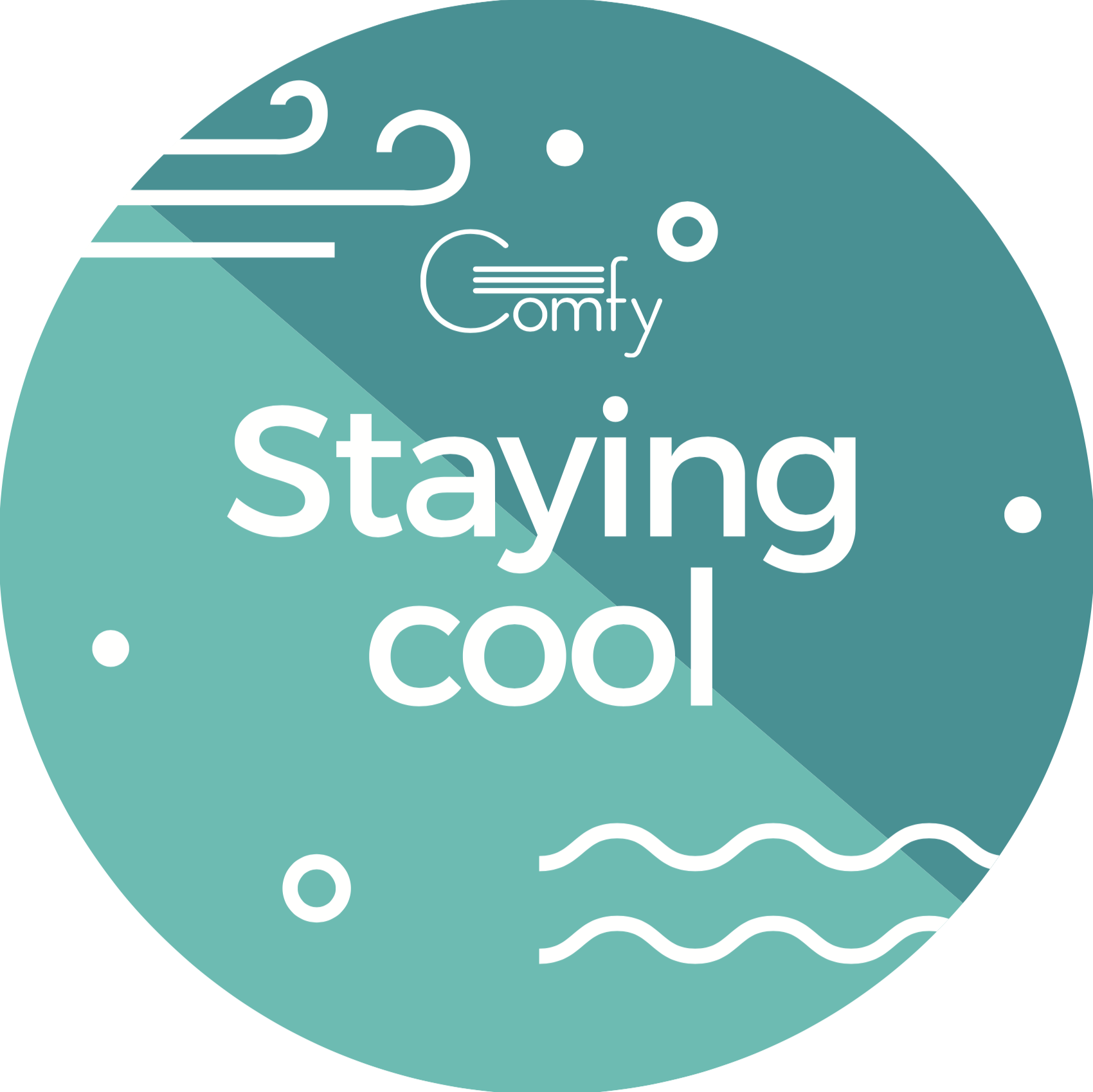 """Cheeky phrases based on our """"warm"""" and """"cool"""" function"""